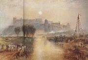 Joseph Mallord William Turner Windsor Castle,Berkshire (mk31) oil